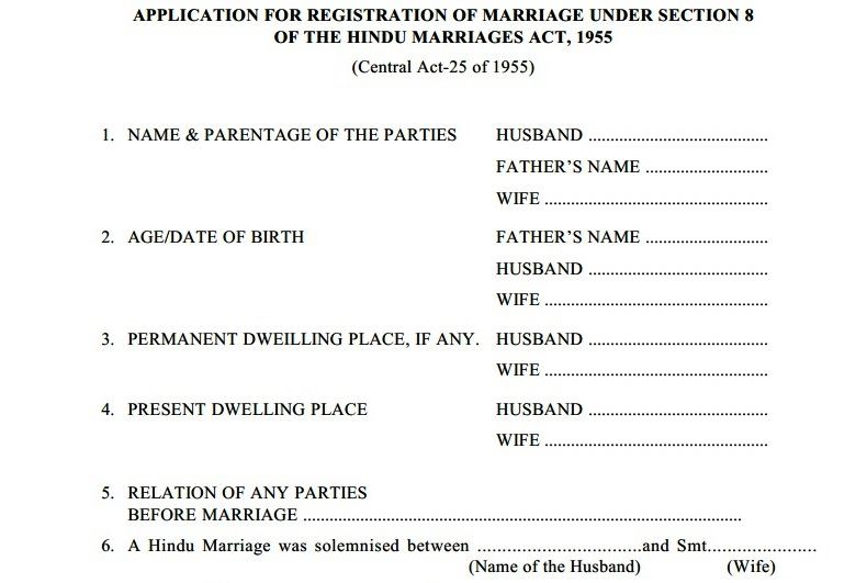 Marriage Registration in Pune|Marriage Certificate|Documents ...