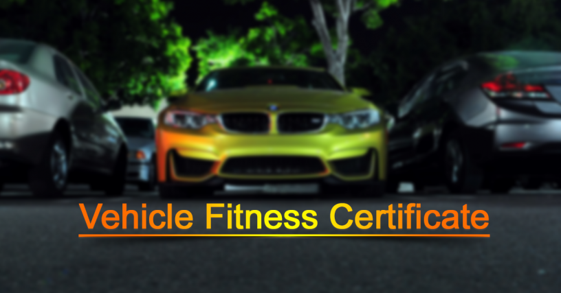 vehicle fitness certificate