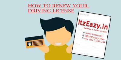 driving licence renewal