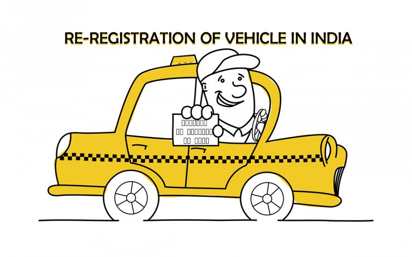 re-registration of vehicle