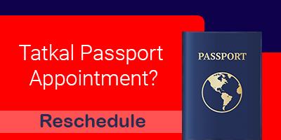 reschedule tatkal passport appointment-itzeazy