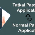tatkal passport to normal passport-itzeazy
