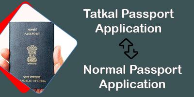 tatkal passport to normal passport-itzeazy